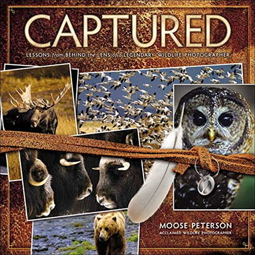 9780321720597: Captured: Lessons from Behind the Lens of a Legendary Wildlife Photographer (Voices That Matter)