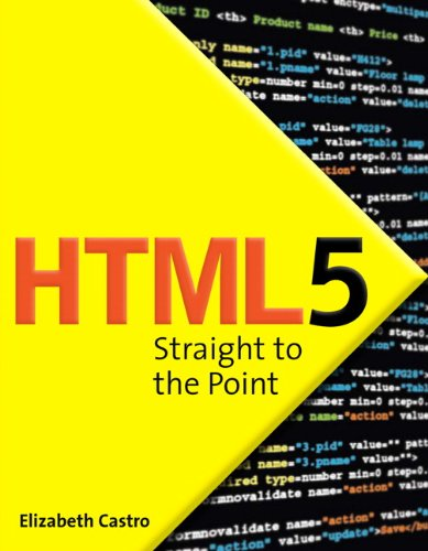 9780321725530: Html5 Straight to the Point: Using Html5 with Css3 and JavaScript