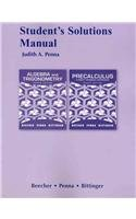 Student Solutions Manual for Algebra and Trigonometry: Judith A. Beecher,