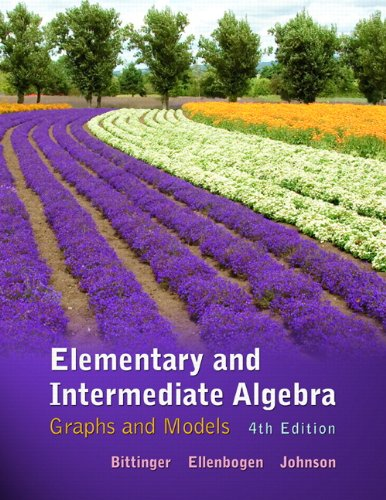 9780321726346: Elementary and Intermediate Algebra: Graphs and Models (4th Edition)
