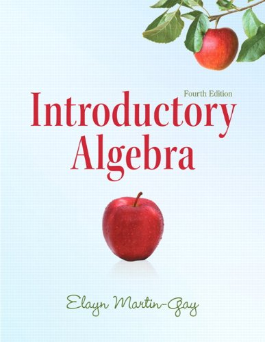 9780321726384: Introductory Algebra (4th Edition) (Martin-Gay Developmental Math Series)