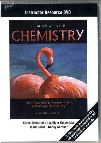 9780321727190: Instructor Resource DVD for Chemistry: An Introduction to General, Organic, and Biological Chemistry 11th Edition