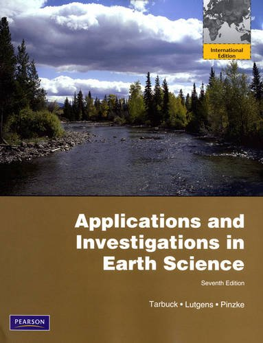 9780321728449: Applications and Investigations in Earth Science