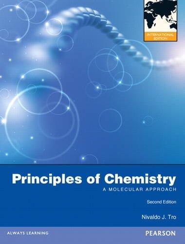 9780321729019: Principles of Chemistry: A Molecular Approach: International Edition