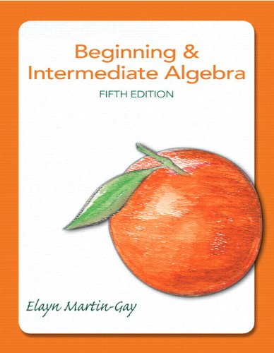 9780321729361: Beginning & Intermediate Algebra Plus MyMathLab -- Access Card Package (5th Edition)