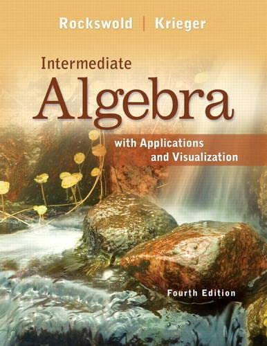 9780321729439: Intermediate Algebra with Applications & Visualization Plus NEW MyMathLab with Pearson eText -- Access Card Package (4th Edition)