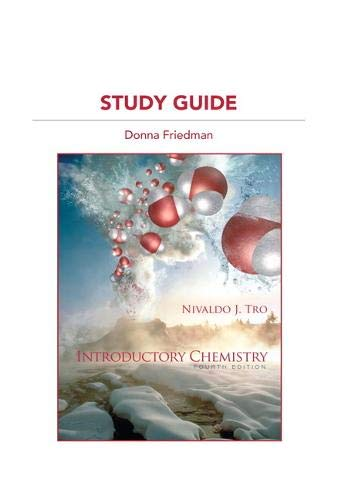 9780321730107: Study Guide for Introductory Chemistry