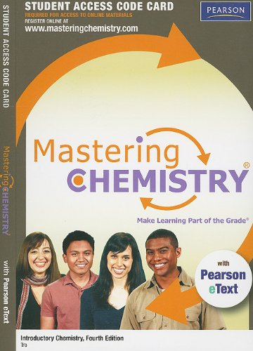 Mastering Chemistry with Pearson eText -- Standalone: Tro, Nivaldo J.