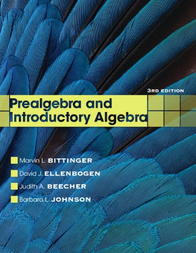 9780321731630: Prealgebra and Introductory Algebra (3rd Edition)