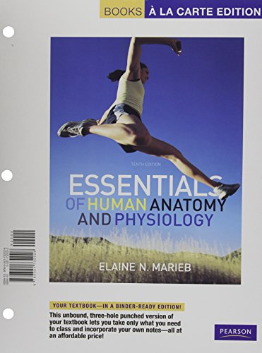 9780321732026: Essentials of Human Anatomy and Physiology, Books a la Carte Edition (10th Edition)