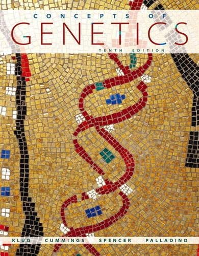 9780321732330: Concepts of Genetics Plus MasteringGenetics with eText -- Access Card Package (10th Edition)