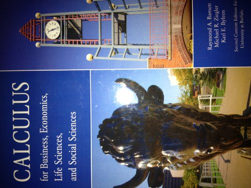 9780321732460: Calculus for Business, Economics, Life Sciences, and Social Sciences
