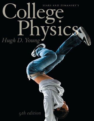 9780321733177: Sears & Zemansky's College Physics