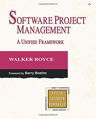 9780321734020: Software Project Management: A Unified Framework (paperback) (The Addison-Wesley Object Technology)