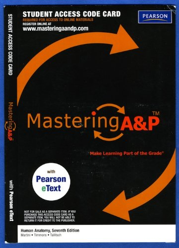 MasteringA&P with Pearson Etext - Valuepack Access: Martini, Frederic H.,