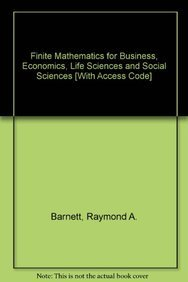 9780321736406: Finite Mathematics for Business, Economics, Life Sciences and Social Sciences with MathXL (12-month access) (12th Edition)