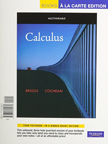 Multivariable Calculus, Books a la Carte Plus MyMathLab/MyStatLab -- Access Card Package: ...