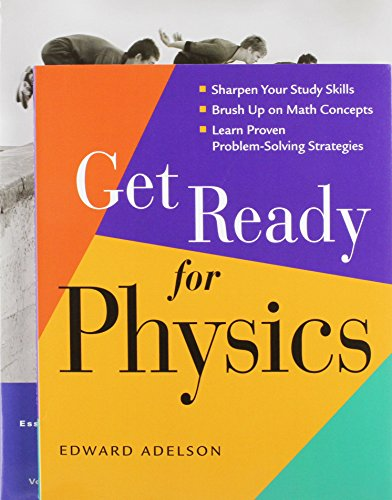 9780321737021: Get Ready for Physics with Essential College Physics and MasteringPhysics