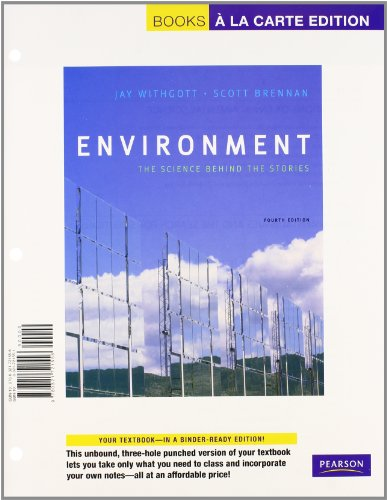9780321740298: Environment: The Science behind the Stories, Books a la Carte Plus MasteringEnvironmentalScience -- Access Card Package (4th Edition)