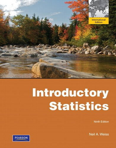 9780321740458: Introductory Statistics:International Edition