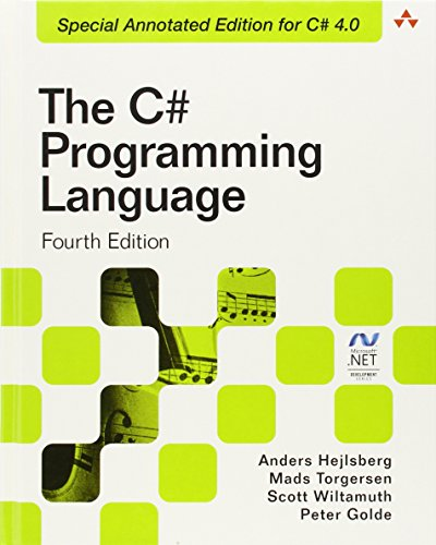 9780321741769: The C# Programming Language (Covering C# 4.0) (4th Edition) (Microsoft Windows Development Series)