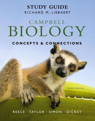 9780321742582: Study Guide for Campbell Biology: Concepts & Connections