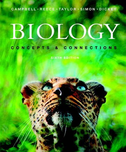 9780321742629: Biology: Concepts & Connections