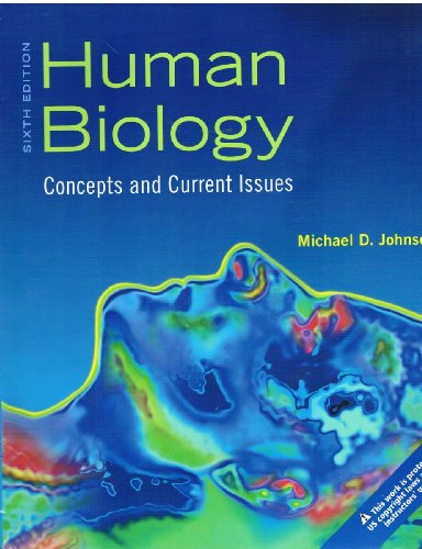 9780321743473: Human Biology: Concepts and Current Issues (Examination Copy)