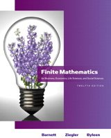 9780321743961: Finite Mathematics for Business, Economics, Life Sciences and Social Sciences, 12th Edition PLUS Student Solutions Manual