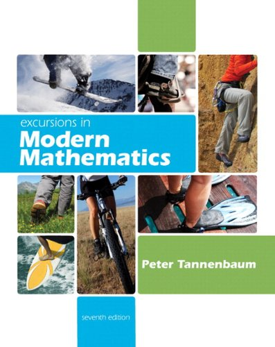 9780321744562: Excursions in Modern Mathematics Plus MyMathLab/MyStatLab Student Access Code Card (7th Edition)