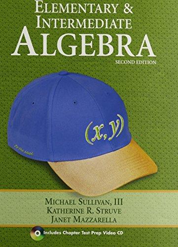 9780321746191: Elementary and Intermediate Algebra plus MyMathLab/MyStatLab/MyStatLab Student Access Code Card (2nd Edition)