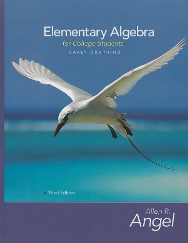 9780321747198: Elementary Algebra Early Graphing for College Students Value Package (includes MyMathLab/MyStatLab Student Access) (3rd Edition)