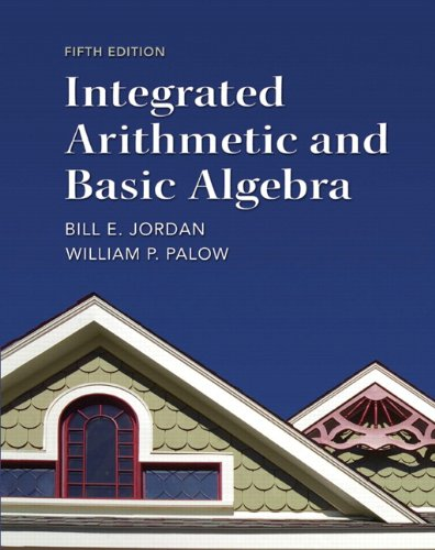 9780321747389: Integrated Arithmetic and Basic Algebra (5th Edition)