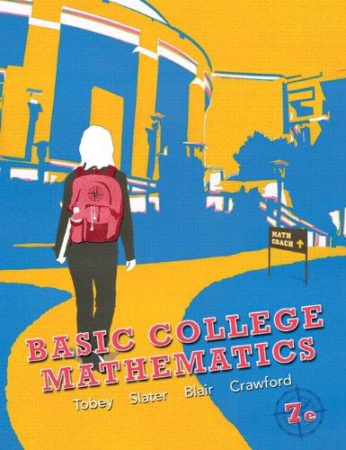 9780321747594: Basic College Mathematics (7th Edition) (Tobey/Slater/Blair Developmental Mathematics)