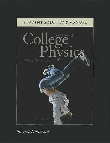 9780321747693: Student Solutions Manual for College Physics