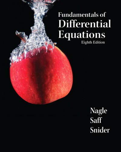 9780321747730: Fundamentals of Differential Equations