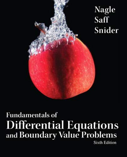 9780321747747: Fundamentals of Differential Equations and Boundary Value Problems (6th Edition) (Featured Titles for Differential Equations)