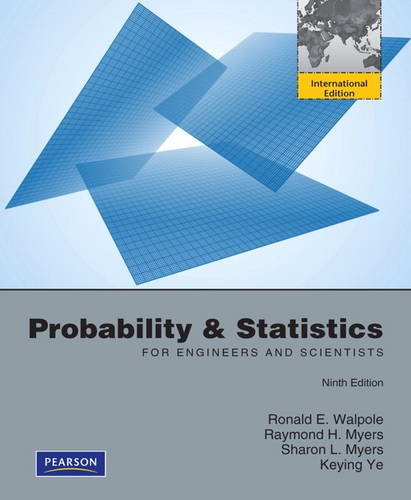 9780321748232: Probability and Statistics for Engineers and Scientists:International Edition