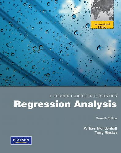 9780321748249: A Second Course in Statistics: Regression Analysis