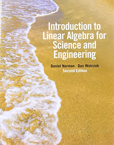 9780321748966: Introduction to Linear Algebra for Science and Engineering (2nd Edition)