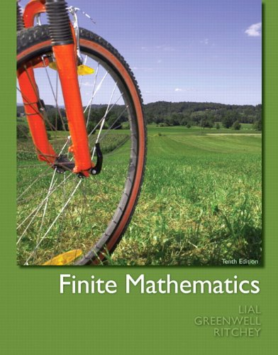 9780321748997: Finite Mathematics:United States Edition