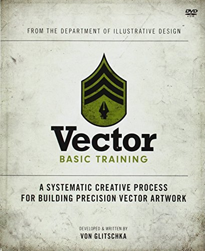 9780321749598: Vector Basic Training: A Systematic Creative Process for Building Precision Vector Artwork (Book & DVD)