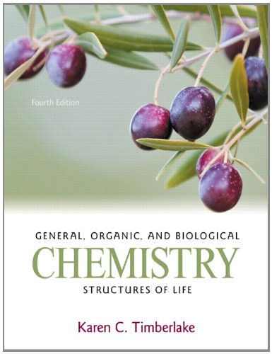 9780321750891: General, Organic, and Biological Chemistry: Structures of Life (4th Edition)
