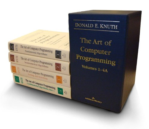 9780321751041: The Art of Computer Programming, Volumes 1-4: 1-4A (Box Set)