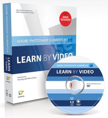 9780321751294: Adobe Photoshop Elements 9: Learn by Video