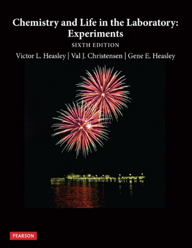 9780321751607: Chemistry and Life in the Laboratory: Experiments (6th Edition)
