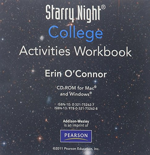 9780321752628: Starry Night College Activities Workbook CD-ROM