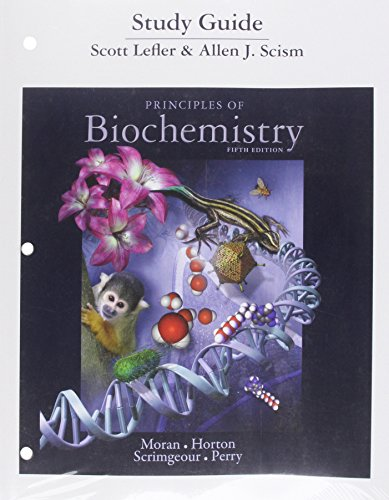 9780321752765: Study Guide for Principles of Biochemistry