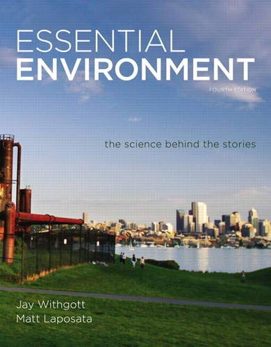 9780321752901: Essential Environment: The Science behind the Stories (4th Edition)
