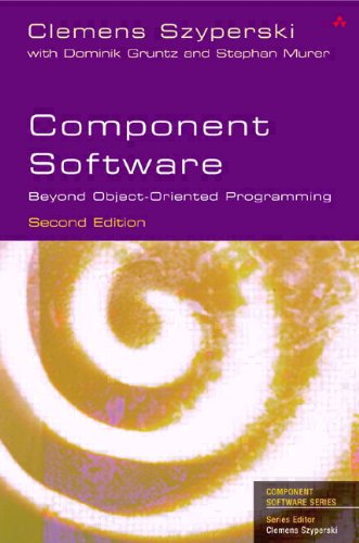 9780321753021: Component Software: Beyond Object-Oriented Programming (paperback) (2nd Edition) (Addison-Wesley Component Software)